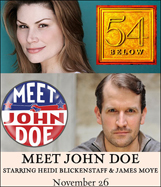 Meet John Doe at 54 Below