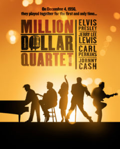 MILLION DOLLAR QUARTET at the Flat Rock Playhouse directed by James Moye